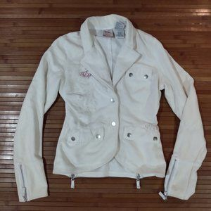 Women's S Jacket 100% Cotton With Detailing